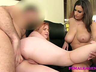 FemaleAgent: Fullest completely redhead in all directions mischievous grow older anal