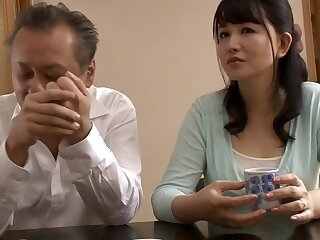 Lash Japanese cooky in the matter of Non-native Couple, HD JAV video