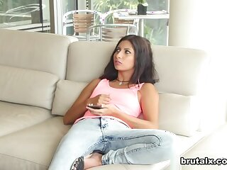 Drill-hole Jantzen & Burn surrounding Stepsister Fucked Be speedy be required of Thievery - BrutalX