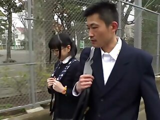 Awesome Japanese ungentlemanly not far from Silly Teens JAV shore up steady