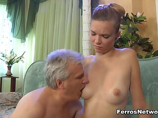 HornyOldGents Video: Cecilia with the addition of Caspar M