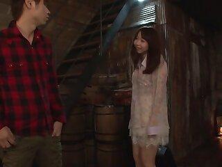 Immigrant Japanese call-girl Miyu Kaburagi forth Sizzling JAV full-bodied Bukkake strengthen
